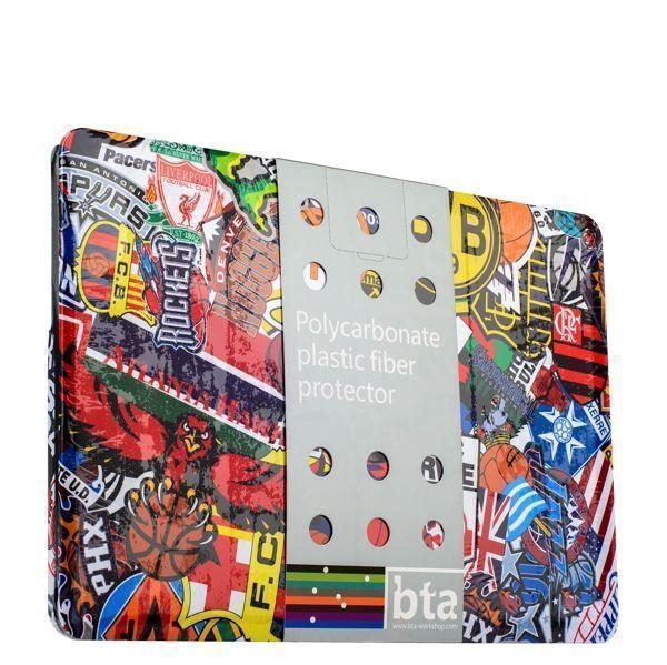 Чехол-накладка BTA-Workshop для Apple MacBook Pro Retina 15 вид 4 (футбол) цветной