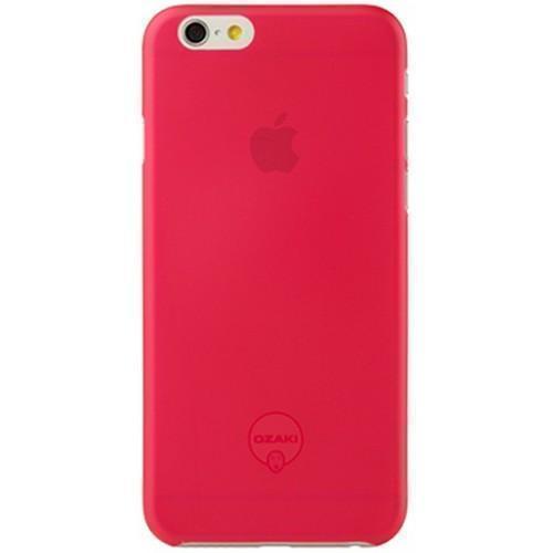 Чехол-накладка Ozaki O!coat 0.3mm Jelly для Apple iPhone 6/6S пластик красный (OC555RD)для iPhone 6/6S<br>Чехол-накладка Ozaki O!coat 0.3mm Jelly для Apple iPhone 6/6S пластик красный (OC555RD)<br>