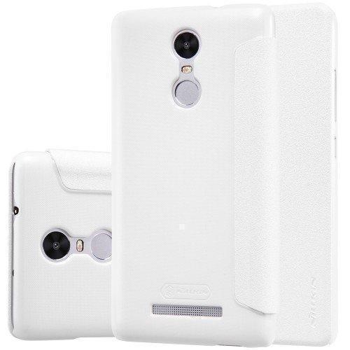Чехол-книжка Nillkin Sparkle Series для Xiaomi Redmi 3 пластик-полиуретан (белый)для Xiaomi<br>Чехол-книжка Nillkin Sparkle Series для Xiaomi Redmi 3 пластик-полиуретан (белый)<br>