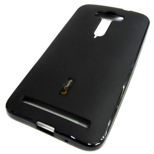 Чехол-накладка Cherry для Asus Zenfone 2 Laser (ZE550KL) силиконовый матовый (черный) фото