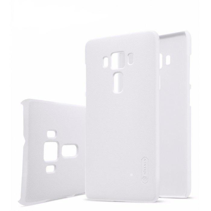 Чехол-накладка Nillkin Frosted Shield для Asus Zenfone 3 Deluxe ZS570KL пластиковый белыйдля ASUS<br>Чехол-накладка Nillkin Frosted Shield для Asus Zenfone 3 Deluxe ZS570KL пластиковый белый<br>