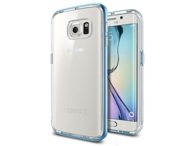 Чехол-накладка Spigen Neo Hybrid CC SGP11527 для Samsung Galaxy S6 Edge силикон пластик синийдля Samsung<br>Чехол-накладка Spigen Neo Hybrid CC SGP11527 для Samsung Galaxy S6 Edge силикон пластик синий<br>