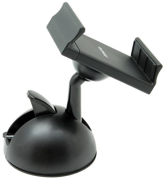 """Держатель автомобильный Ppyple Dash-N5 на стекло или торпеду для телефона 4.3""""-5,5"""" черный матовый"""