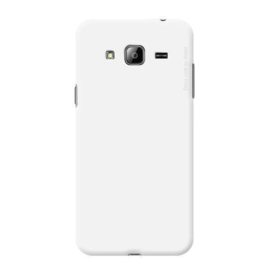 Чехол-накладка Deppa Air Case для Samsung Galaxy J3 (2016) SM-J320 (пластиковый) белыйдля Samsung<br>Чехол-накладка Deppa Air Case для Samsung Galaxy J3 (2016) SM-J320 (пластиковый) белый<br>