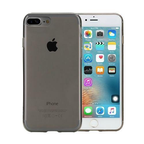 Чехол-накладка Rock Ultrathin TPU Slim Jacket для Apple iPhone 7 Plus/8 Plus прозрачно-черныйдля iPhone 7 Plus/8 Plus<br>Чехол-накладка Rock Ultrathin TPU Slim Jacket для Apple iPhone 7 Plus/8 Plus прозрачно-черный<br>
