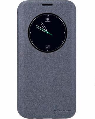 Чехол-книжка Nillkin Sparkle Series для Samsung Galaxy S7 Edge (SM-G935) пластик-полиуретан (черный)для Samsung<br>Чехол-книжка Nillkin Sparkle Series для Samsung Galaxy S7 Edge (SM-G935) пластик-полиуретан (черный)<br>