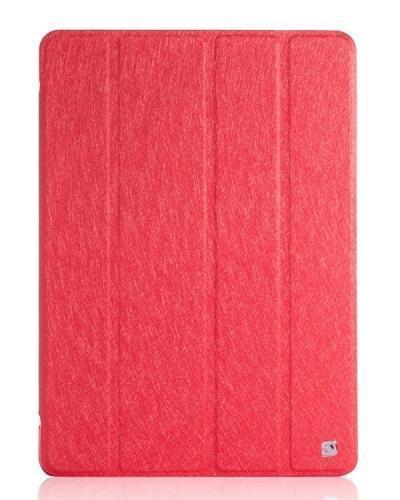 Чехол-книжка Hoco Ice Series для Apple iPad Air / 2017 (полиуретан с подставкой) красныйдля Apple iPad Air<br>Чехол-книжка Hoco Ice Series для Apple iPad Air / 2017 (полиуретан с подставкой) красный<br>