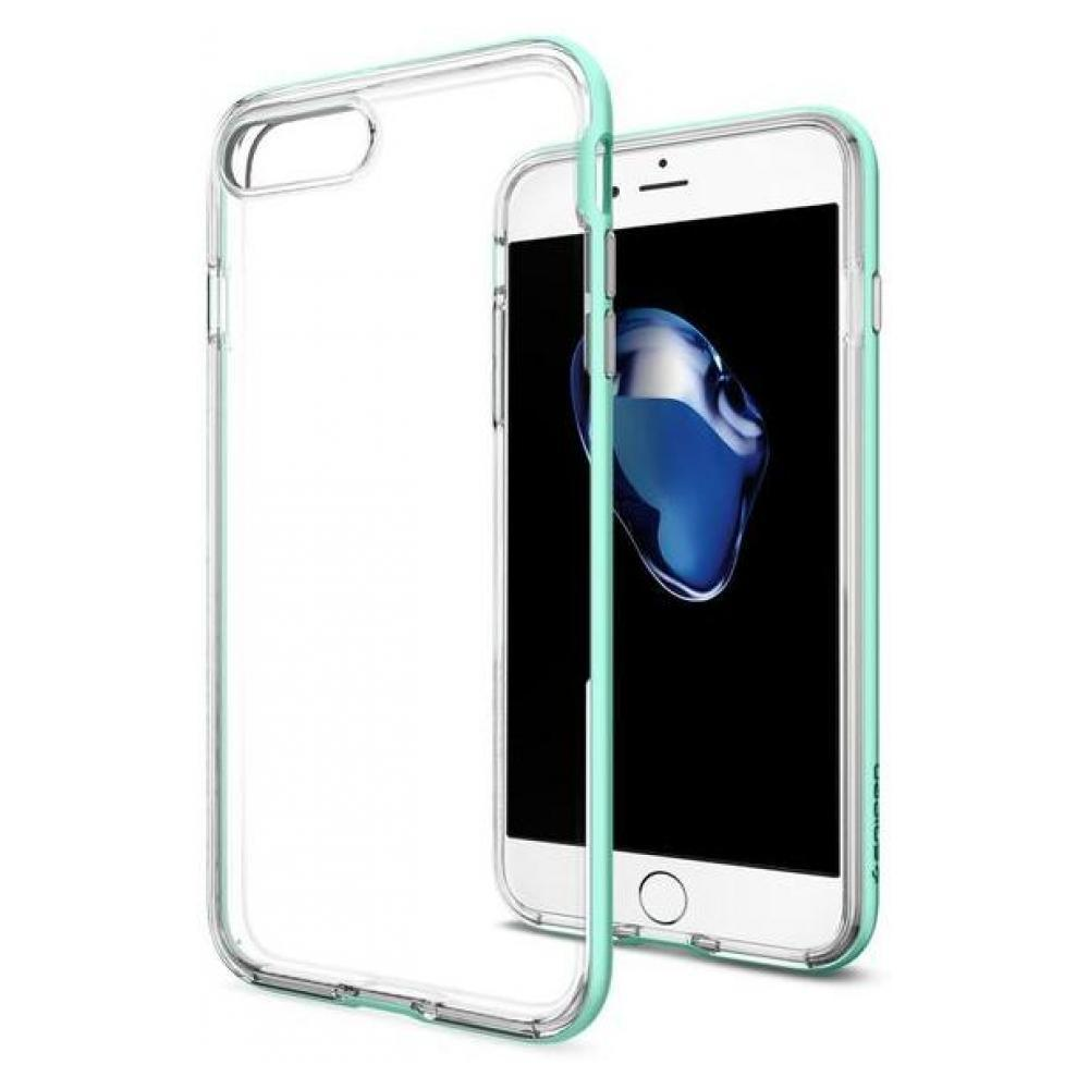 Чехол-накладка Spigen Neo Hybrid Crystal для Apple iPhone 7 Plus/8 Plus Mint SGP 043CS20541для iPhone 7 Plus/8 Plus<br>Чехол-накладка Spigen Neo Hybrid Crystal для Apple iPhone 7 Plus/8 Plus Mint SGP 043CS20541<br>
