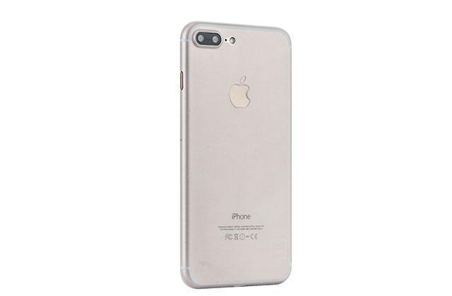 Чехол-накладка Uniq Bodycon для Apple iPhone 7 Plus/8 Plus пластик прозрачно-черный (IP7PHYB-BDC)