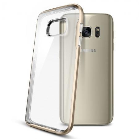 Чехол-накладка Spigen Neo Hybri Crystal для Samsung Galaxy S7 (SGP 555CS20023) Champagne Goldдля Samsung<br>Чехол-накладка Spigen Neo Hybri Crystal для Samsung Galaxy S7 (SGP 555CS20023) Champagne Gold<br>