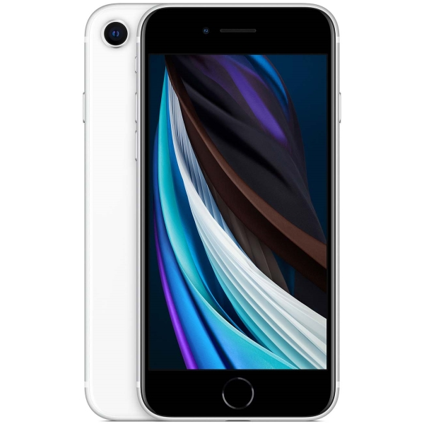 Apple iPhone SE (2020) 128GB (White) (MXD12RU/A) фото