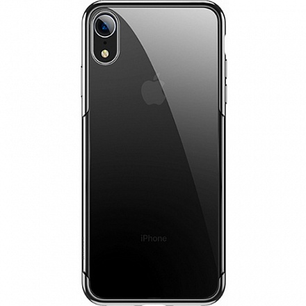 Купить Чехол-накладка Baseus Glitter Case для Apple iPhone XR пластиковый (черный)