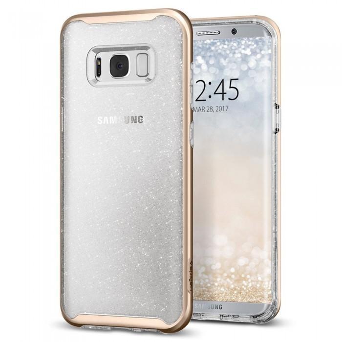 Чехол-накладка Spigen Neo Hybrid Crystal Glitter для Samsung Galaxy S8+ SGP 571CS21658 Золотойдля Samsung<br>Чехол-накладка Spigen Neo Hybrid Crystal Glitter для Samsung Galaxy S8+ SGP 571CS21658 Золотой<br>