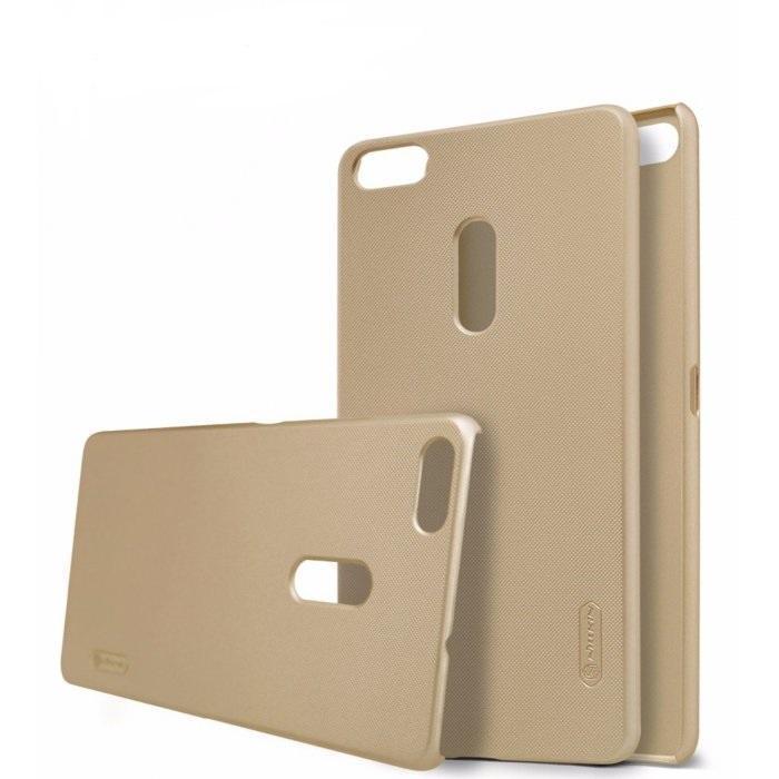Чехол-накладка Nillkin Frosted Shield для Asus Zenfone 3 Ultra ZU680KL пластиковый золотойдля ASUS<br>Чехол-накладка Nillkin Frosted Shield для Asus Zenfone 3 Ultra ZU680KL пластиковый золотой<br>