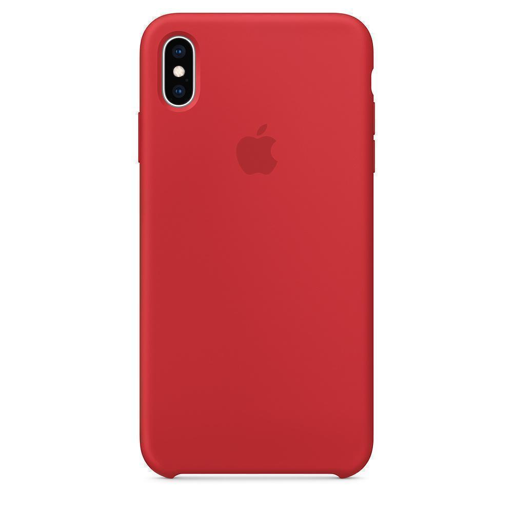 Купить Чехол-накладка Silicone Case Series для Apple iPhone XS Max красный