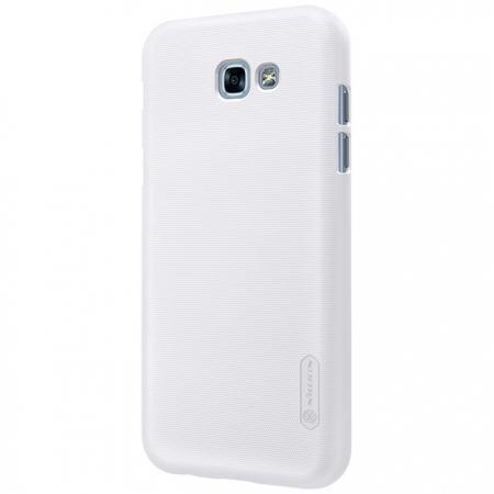Чехол-накладка Nillkin Frosted Shield для Samsung Galaxy A7 (2017) SM-A720 пластиковый белыйдля Samsung<br>Чехол-накладка Nillkin Frosted Shield для Samsung Galaxy A7 (2017) SM-A720 пластиковый белый<br>