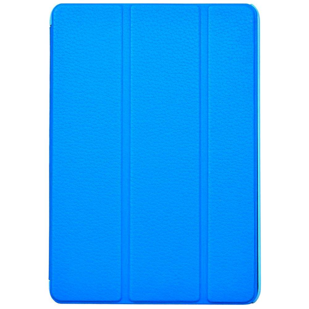 Чехол-книжка iCover Carbio для Apple iPad mini 4 (натуральная кожа с подставкой) Sky Blue