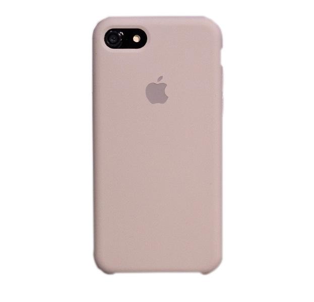 Купить Чехол-накладка Silicone Case для iPhone 7/8 силиконовый (лососевый)