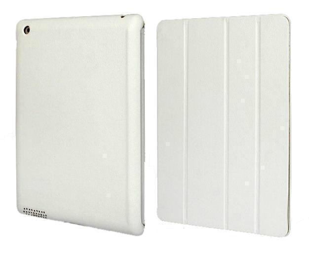 Чехол-книжка Smart Case для Apple iPad mini 1/2/3 (искусственная кожа с подставкой) белыйдля Apple iPad mini 1/2/3<br>Чехол-книжка Smart Case для Apple iPad mini 1/2/3 (искусственная кожа с подставкой) белый<br>