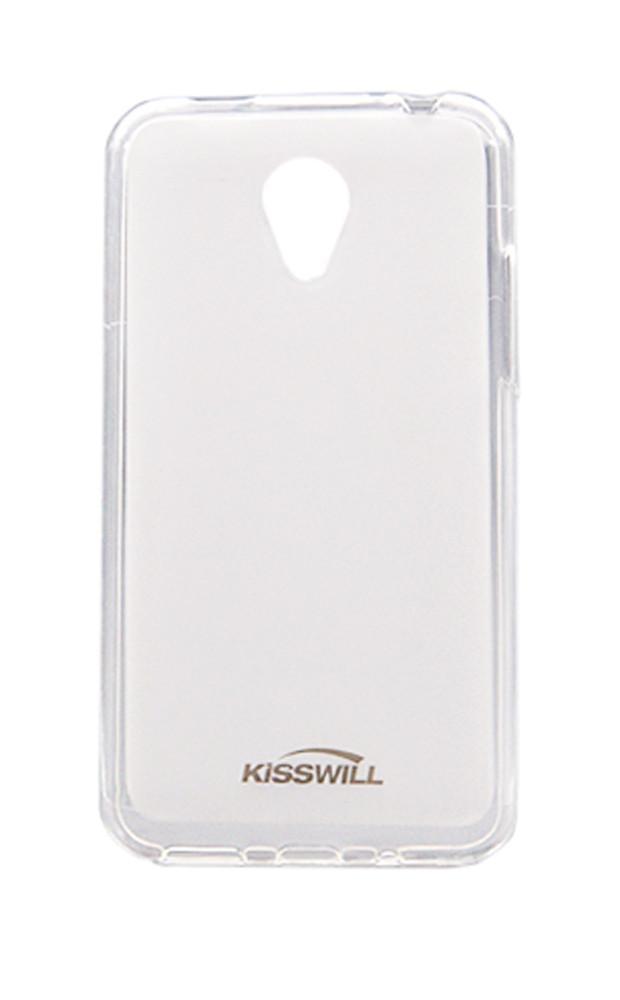 Чехол-накладка Jekod/KissWill для Meizu MX5 силиконовый матовый прозрачно-белый