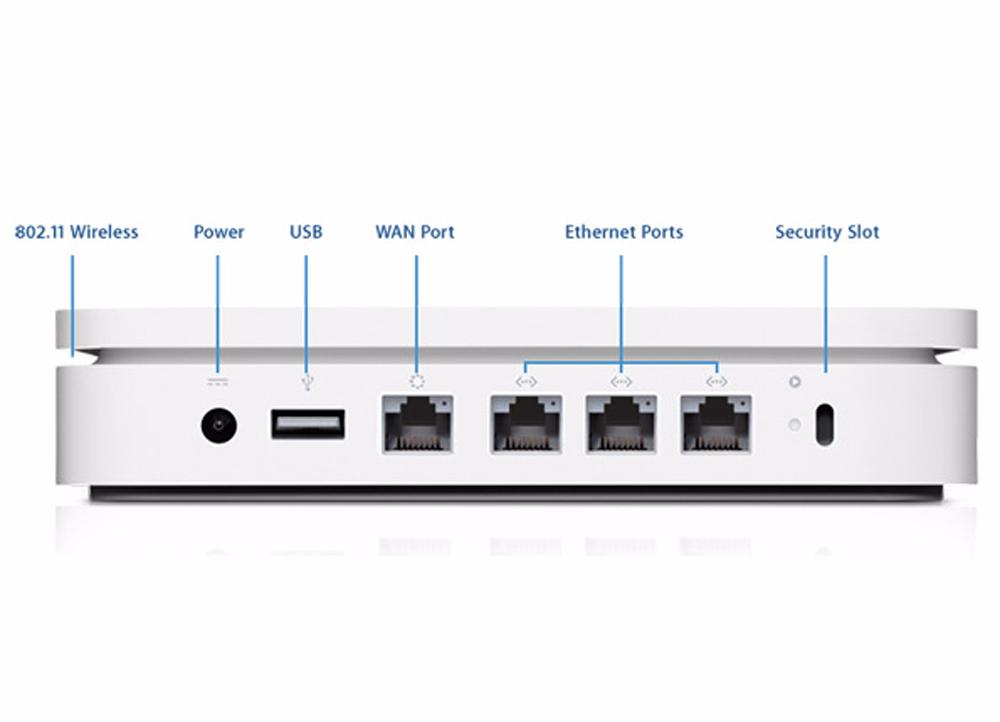 Роутер Wi-Fi Apple AirPort Extreme Base Station 802.11n MD031Z/AСетевое оборудование Wi-Fi и Bluetooth<br>Роутер Wi-Fi Apple AirPort Extreme Base Station 802.11n MD031Z/A<br>