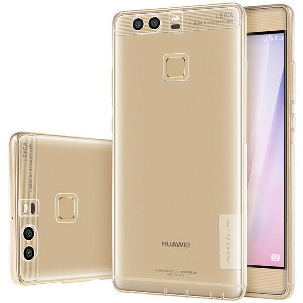 Чехол-накладка Nillkin Nature 0.6mm для Huawei P9 силиконовый прозрачно-золотойдля Huawei<br>Чехол-накладка Nillkin Nature 0.6mm для Huawei P9 силиконовый прозрачно-золотой<br>