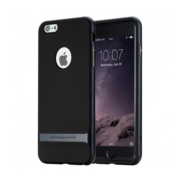 Чехол-накладка Rock Royce для Apple iPhone 6 Plus/6S Plus Navy Blueдля iPhone 6 Plus/6S Plus<br>Чехол-накладка Rock Royce для Apple iPhone 6 Plus/6S Plus Navy Blue<br>