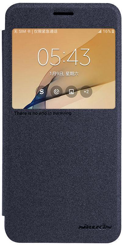Чехол-книжка Nillkin Sparkle Series для Samsung Galaxy On5/O5/G5500/G550/Grand On 5.0 чёрныйдля Samsung<br>Чехол-книжка Nillkin Sparkle Series для Samsung Galaxy On5/O5/G5500/G550/Grand On 5.0 чёрный<br>