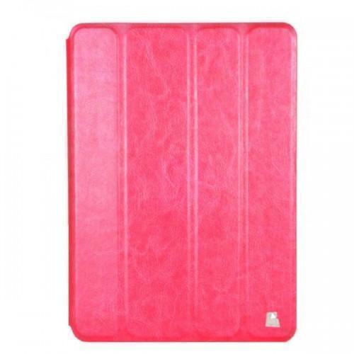 Купить со скидкой Чехол-книжка JustCase UltraThin для Apple iPad Air (искусственная кожа с подставкой) малиновый