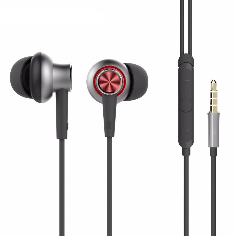 Купить со скидкой Проводная стерео-гарнитура Rock Y5 Stereo Earphone (вакуумные с микрофоном и пультом) Red