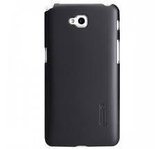 Чехол-накладка Nillkin Frosted Shield для LG G Pro Lite D684 пластиковый (Black) фото