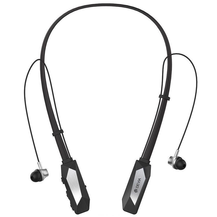 Купить Беспроводные Bluetooth cтерео-наушники Devia Kucky Neckband Sport (черный)