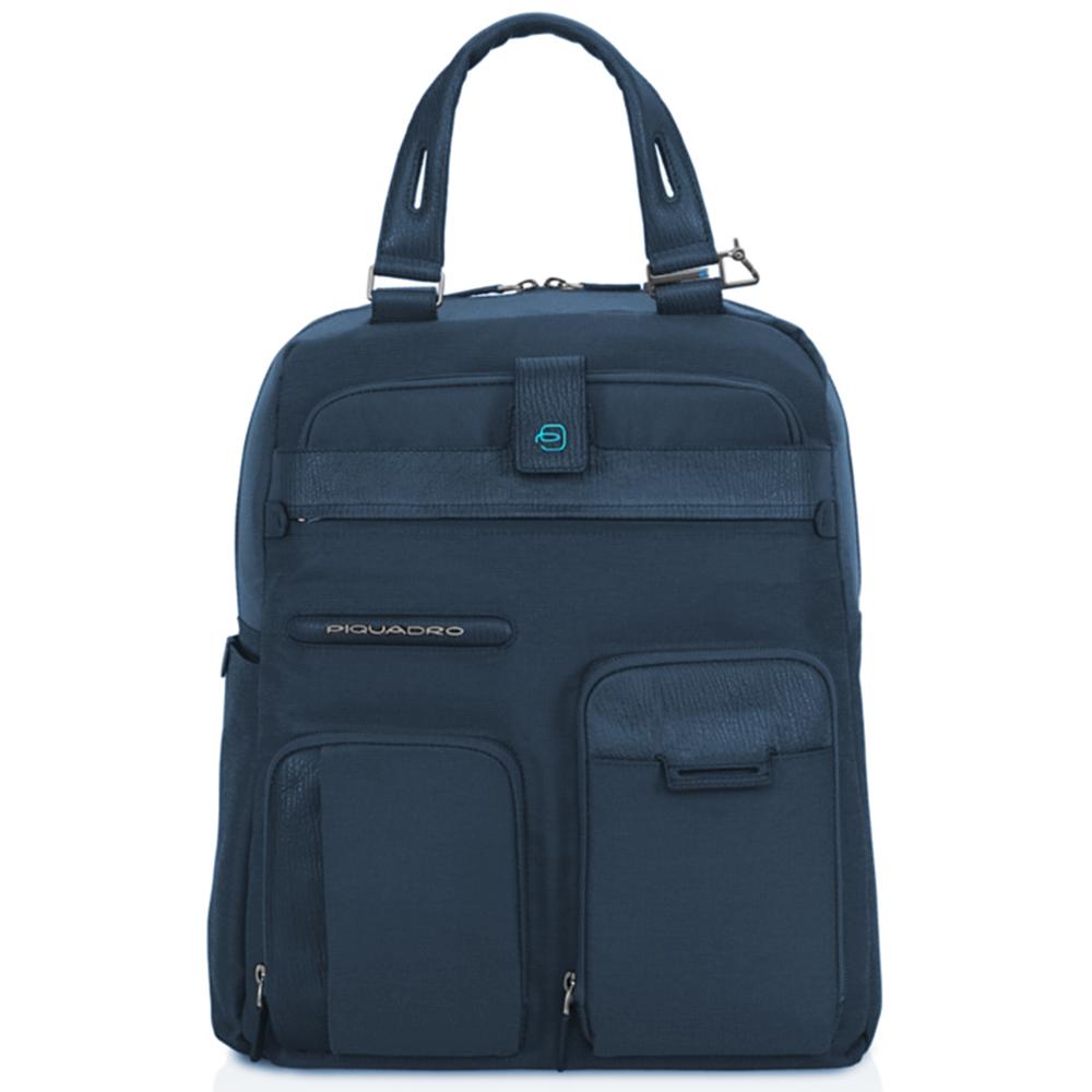 Рюкзак Piquadro Signo Blue для ноутбуков до 13/iPad синий AS2912SI/AVСумки и рюкзаки для ноутбуков<br>Рюкзак Piquadro Signo Blue для ноутбуков до 13/iPad синий AS2912SI/AV<br>