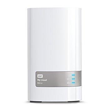 Сетевой накопитель  WD  8 TB  RAID  My Cloud Mirror, 3.5