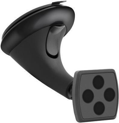 Держатель автомобильный Deppa Crab Mage магнитный на стекло или торпеду для телефона черный
