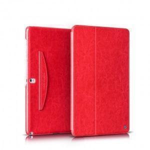 Чехол-книжка Hoco Crystal для Samsung Galaxy Tab Pro 10.1 (T520/T525) натуральная кожа красныйдля Samsung<br>Чехол-книжка Hoco Crystal для Samsung Galaxy Tab Pro 10.1 (T520/T525) натуральная кожа красный<br>