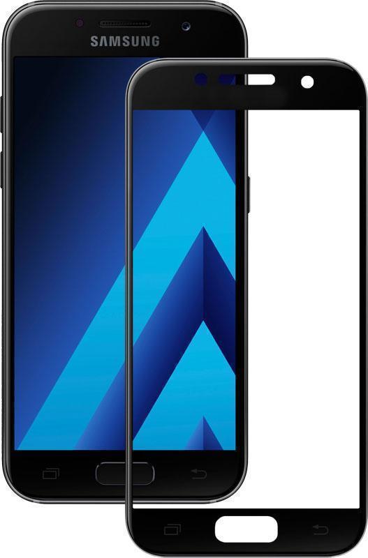Защитное стекло Glass PRO (Full) Screen для Samsung Galaxy A3 (2017) A320 цветное черная рамкадля Samsung<br>Защитное стекло Glass PRO (Full) Screen для Samsung Galaxy A3 (2017) A320 цветное черная рамка<br>