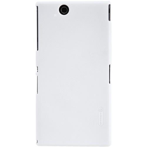Чехол-накладка Nillkin Frosted Sheield для Sony Xperia Z1 белыйдля Sony<br>Чехол-накладка Nillkin Frosted Sheield для Sony Xperia Z1 белый<br>