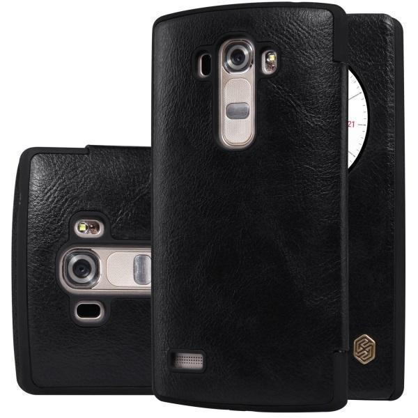 Чехол-книжка Nillkin QIN Leather Case для LG G4s (H736 / H734) натуральная кожа (черный)для LG<br>Чехол-книжка Nillkin QIN Leather Case для LG G4s (H736 / H734) натуральная кожа (черный)<br>