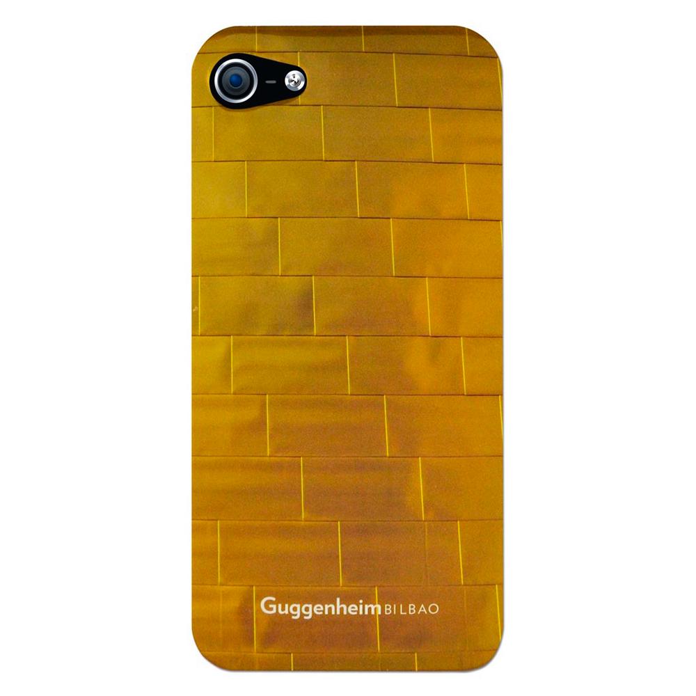 Чехол-накладка Guggenheim Bilbao для Apple iPhone SE/5S/5 золотистыйдля iPhone 5/5S/SE<br>Чехол-накладка Guggenheim Bilbao для Apple iPhone SE/5S/5 золотистый<br>