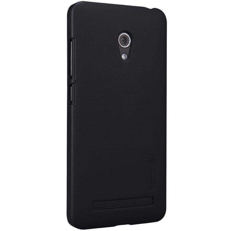 Чехол-накладка Nillkin Frosted Shield для Asus Zenfone 5 A502CG Lite пластиковый Blackдля ASUS<br>Чехол-накладка Nillkin Frosted Shield для Asus Zenfone 5 A502CG Lite пластиковый Black<br>