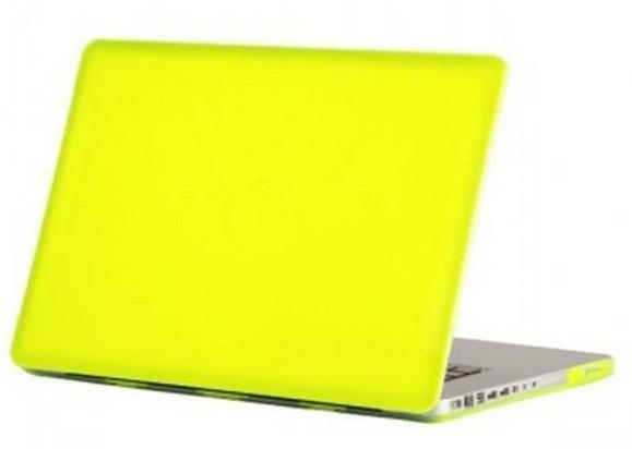 Купить Чехол-накладка BTA-Workshop для Apple MacBook Pro Retina (2012-2015) матовая (прозрачно-желтая)