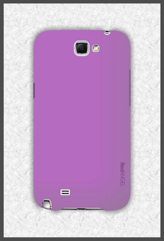 Чехол-накладка Red Angel Ultra-Thin High Strength для Samsung Galaxy Note 2 (GT-N7100) фиолетовыйдля Samsung<br>Чехол-накладка Red Angel Ultra-Thin High Strength для Samsung Galaxy Note 2 (GT-N7100) фиолетовый<br>
