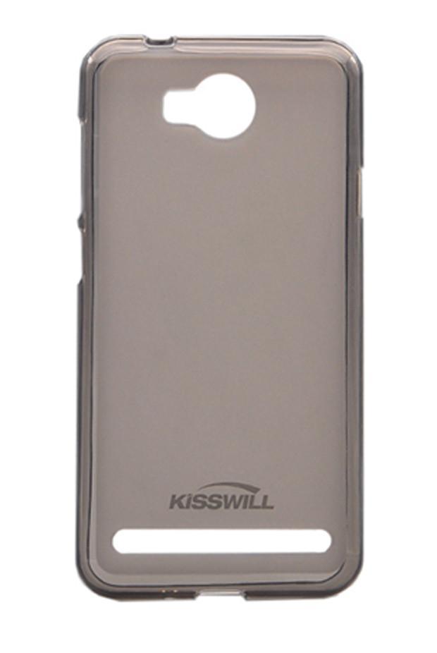 Чехол-накладка Jekod/KissWill для Huawei Y3 / Ascend Y336 силиконовый матовый прозрачно-черныйдля Huawei<br>Чехол-накладка Jekod/KissWill для Huawei Y3 / Ascend Y336 силиконовый матовый прозрачно-черный<br>