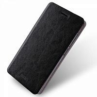 Чехол-книжка Mofi Case для Xiaomi Redmi 4A искусственная кожа, силикон (черный) фото