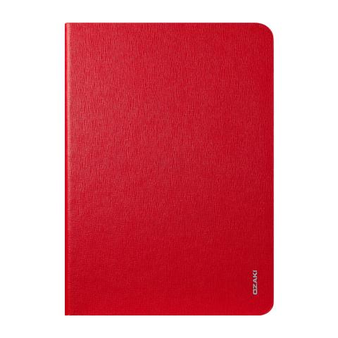 Чехол-книжка Ozaki O!coat Slim (OC126RD) для Apple Air 2 (искусственная кожа с подставкой) Red