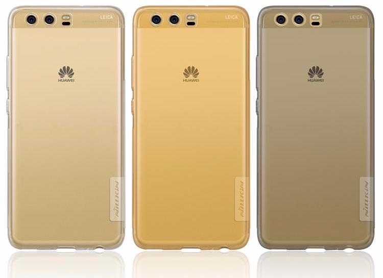 Чехол-накладка Nillkin Nature 0.6mm для Huawei P10 / P10 Dual sim силиконовый прозрачно-черныйдля Huawei<br>Чехол-накладка Nillkin Nature 0.6mm для Huawei P10 / P10 Dual sim силиконовый прозрачно-черный<br>