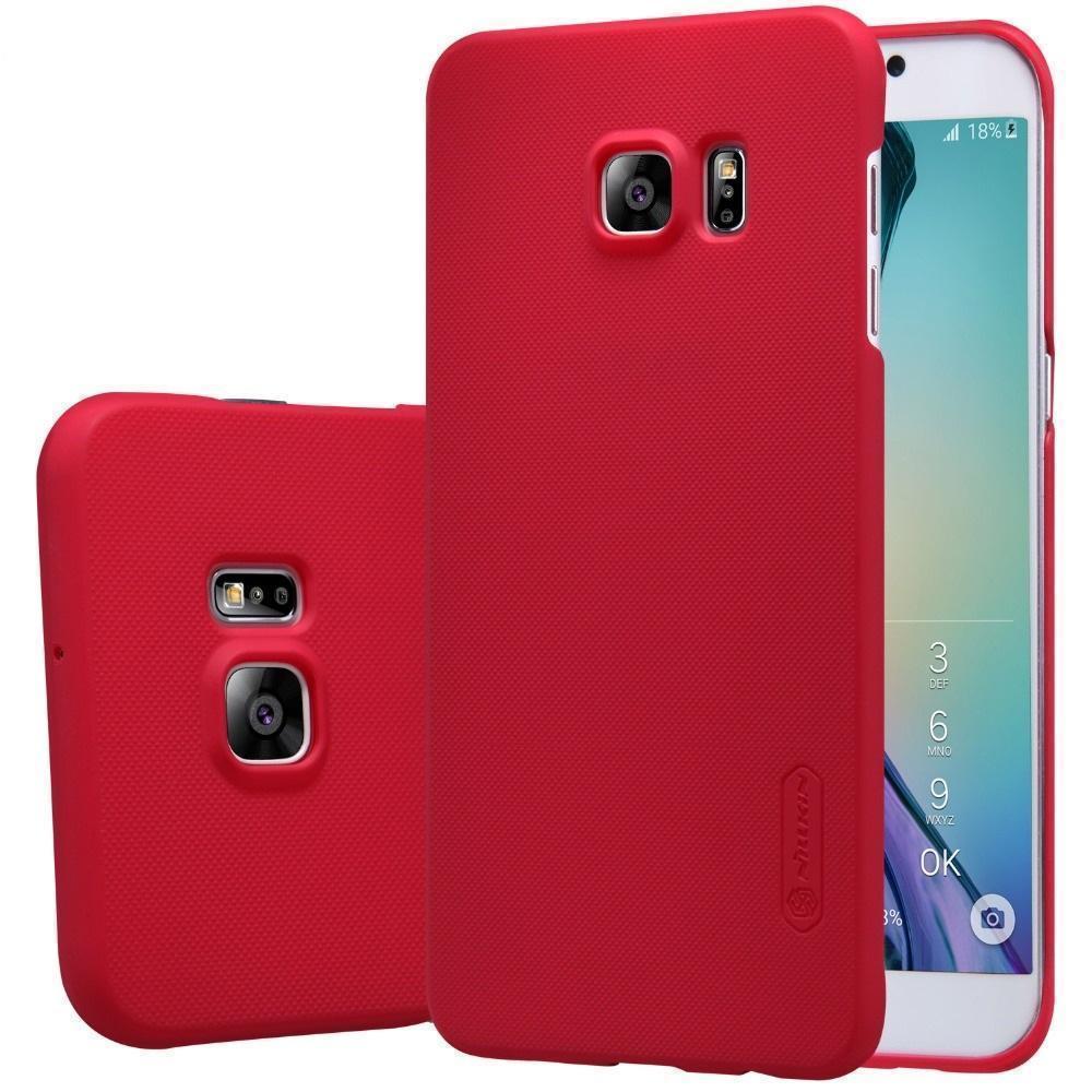 Купить Чехол-накладка Nillkin Frosted Shield для Samsung Galaxy S6 (SM-G920) пластиковый (красный)