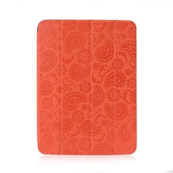 Чехол-книжка Gissar Flora для Samsung Galaxy Tab 3 10.1 (P5200/P5210) натуральная кожа оранжевый