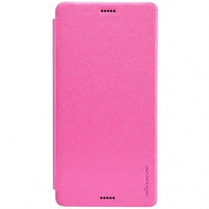 Чехол-книжка Nillkin Sparkle Series для Sony Xperia Z3 пластик-полиуретан розовыйдля Sony<br>Чехол-книжка Nillkin Sparkle Series для Sony Xperia Z3 пластик-полиуретан розовый<br>